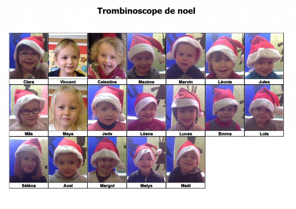 trombinoscope noel